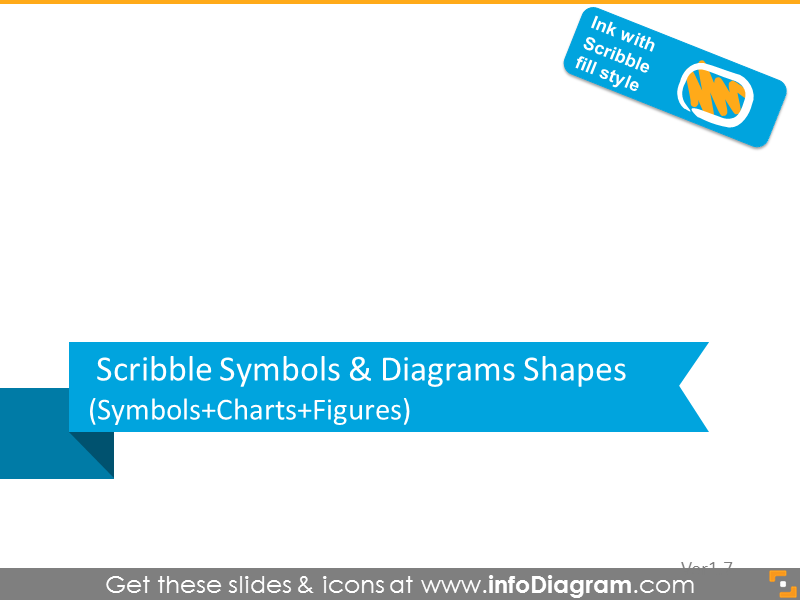 Scribble symbols and diagrams