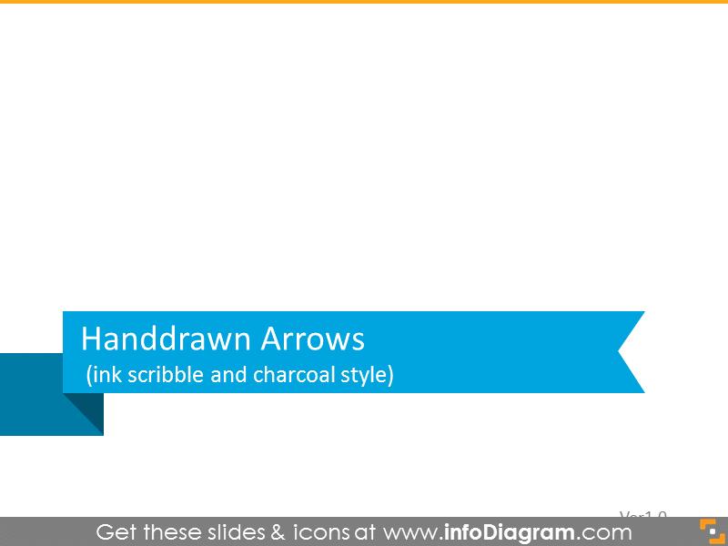 Handdrawn arrows