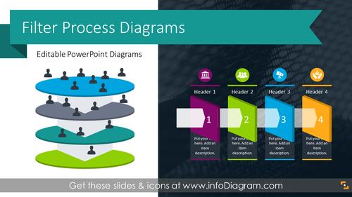 Filter Process Diagrams (PPT Template)