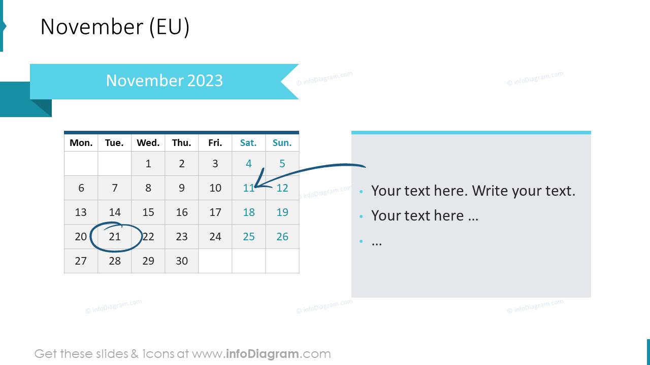 December 2022 EU Calendars