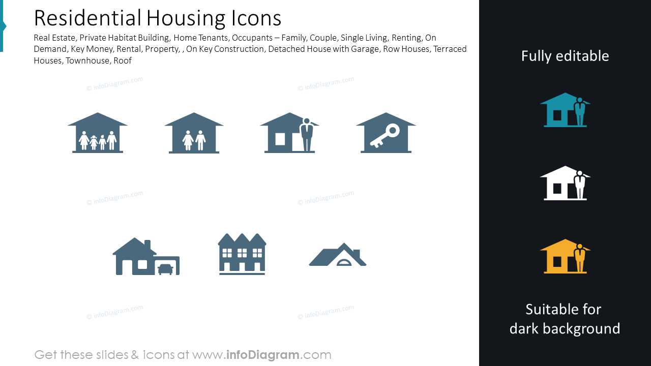 Residential Housing Icons