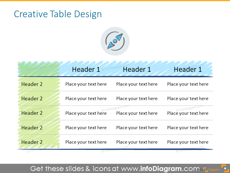 Example of the creative table design