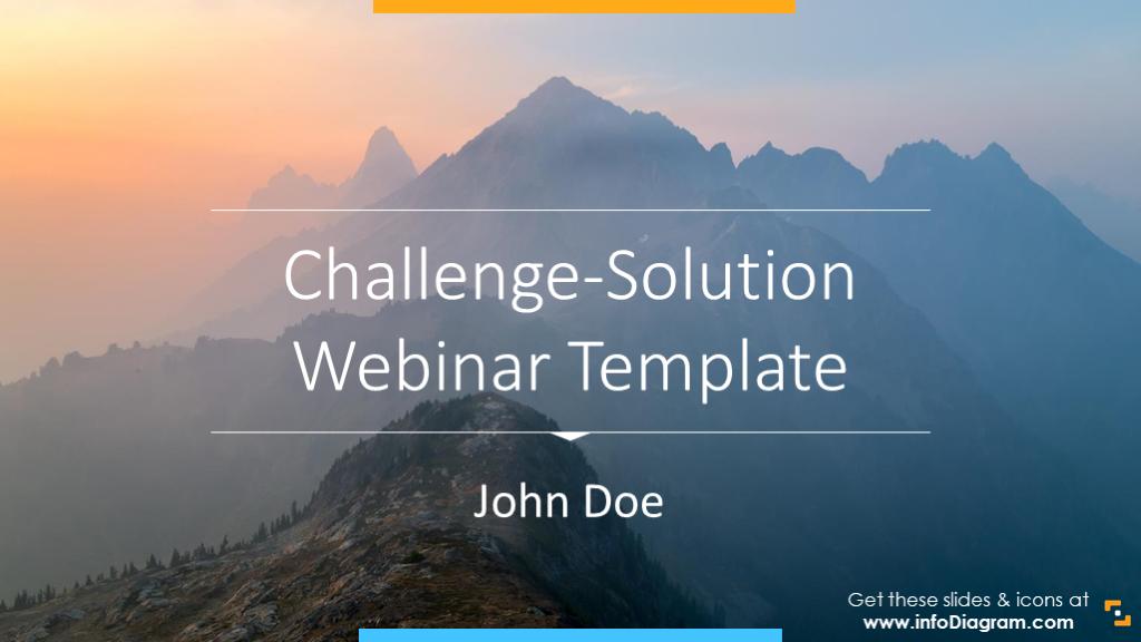 Challenge-solution webinar template