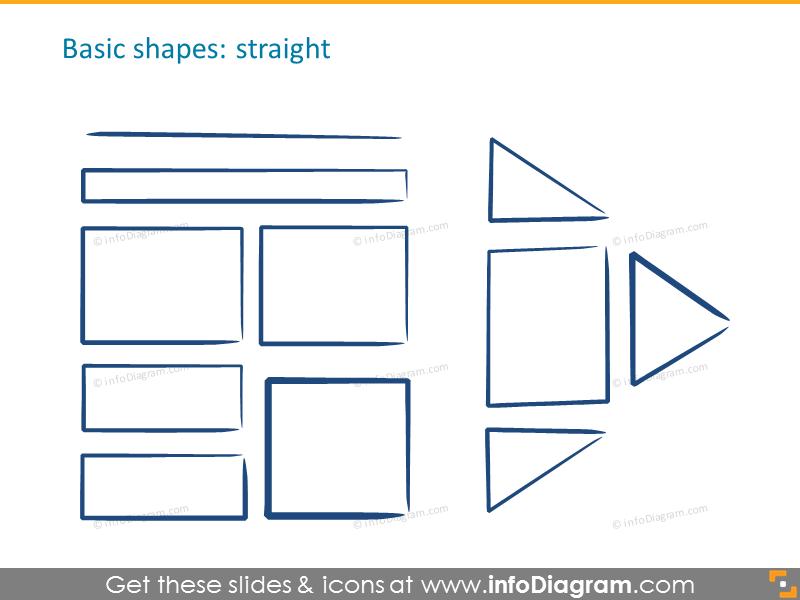 Basic shapes: straight shapes