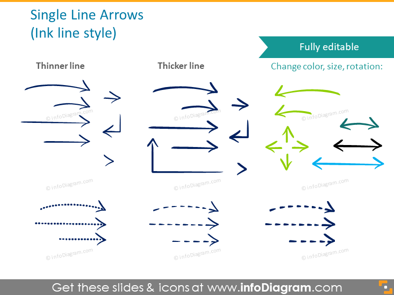 hand-drawn-arrows-circle-cycle-sketched-organic-style-ppt-icon