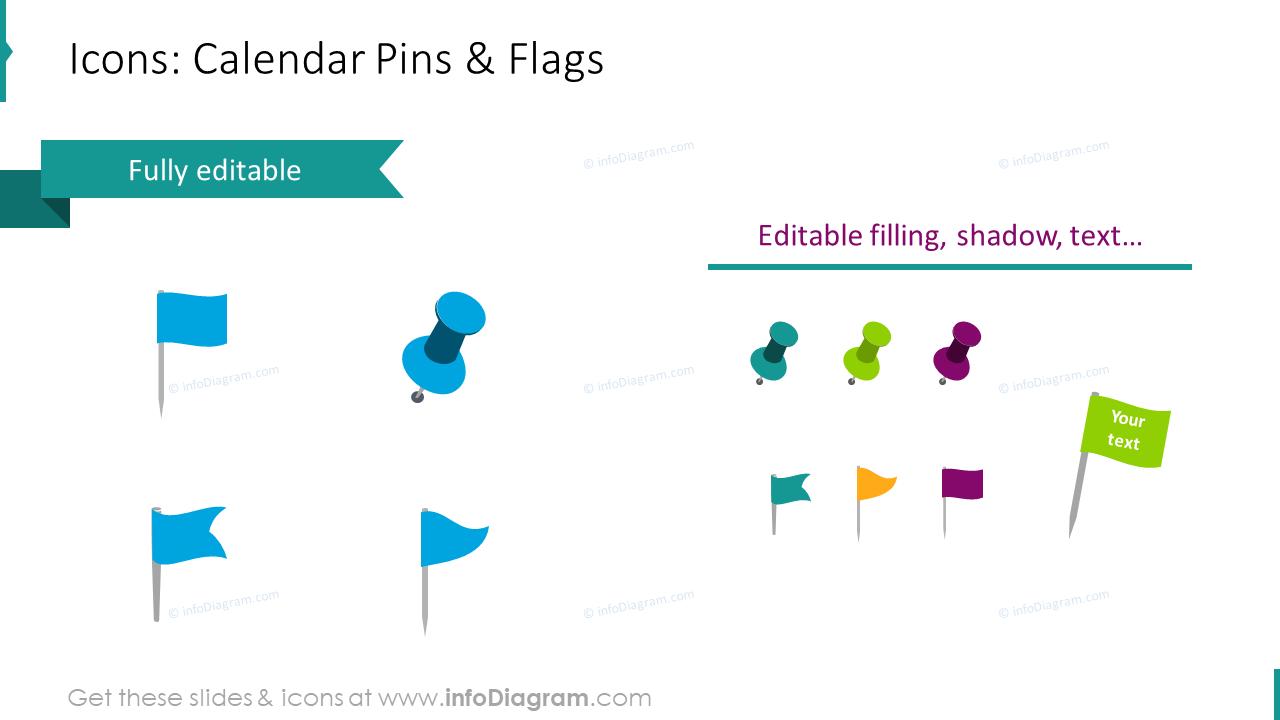 Calendars 2020 EU Editable Icons