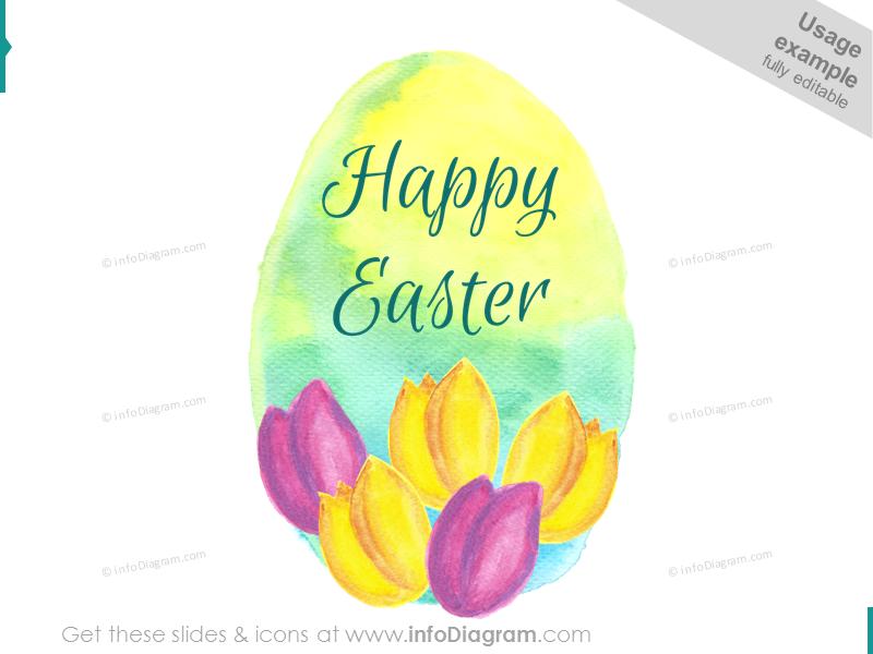Easter rabbit chicken powerpoint