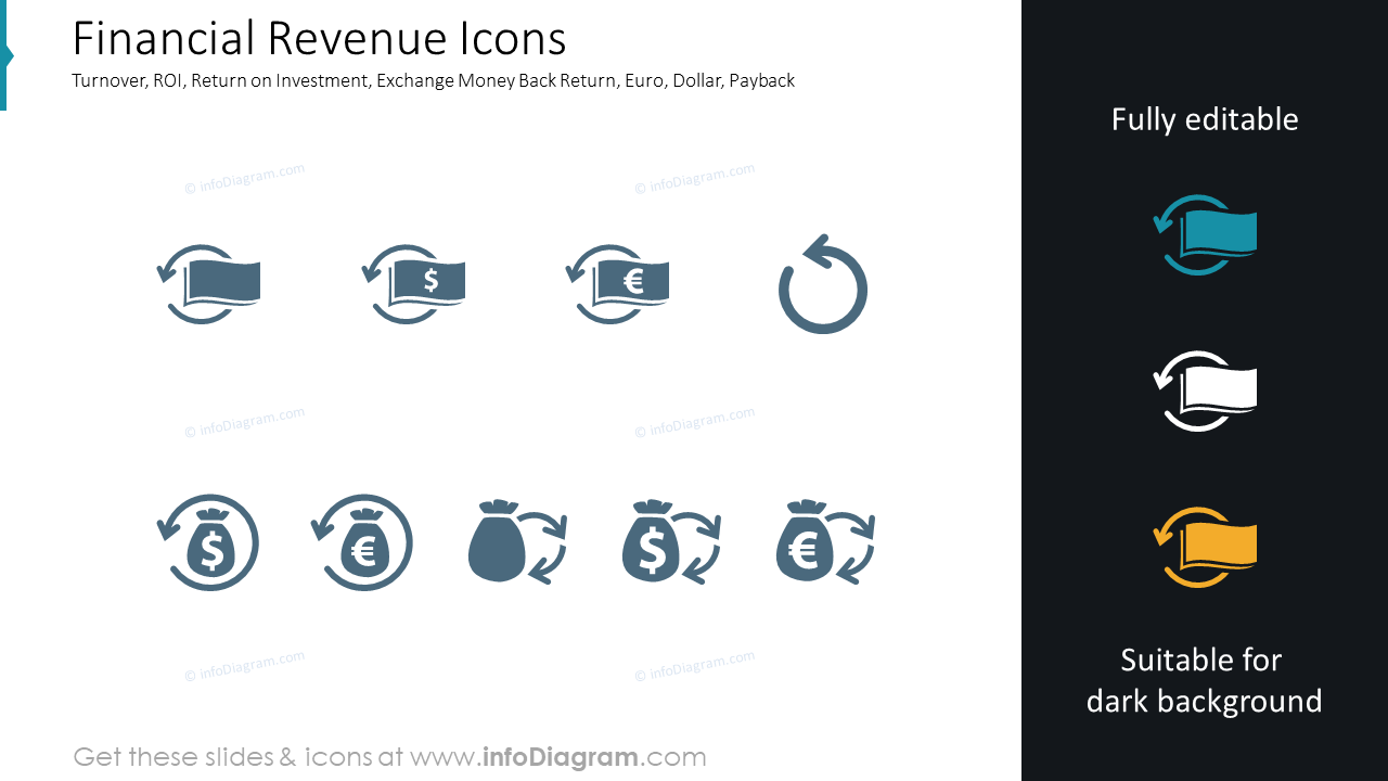 Financial Revenue Icons