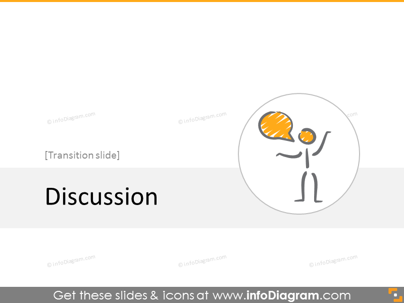 Discussion section slide