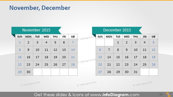 November December school calendar 2015