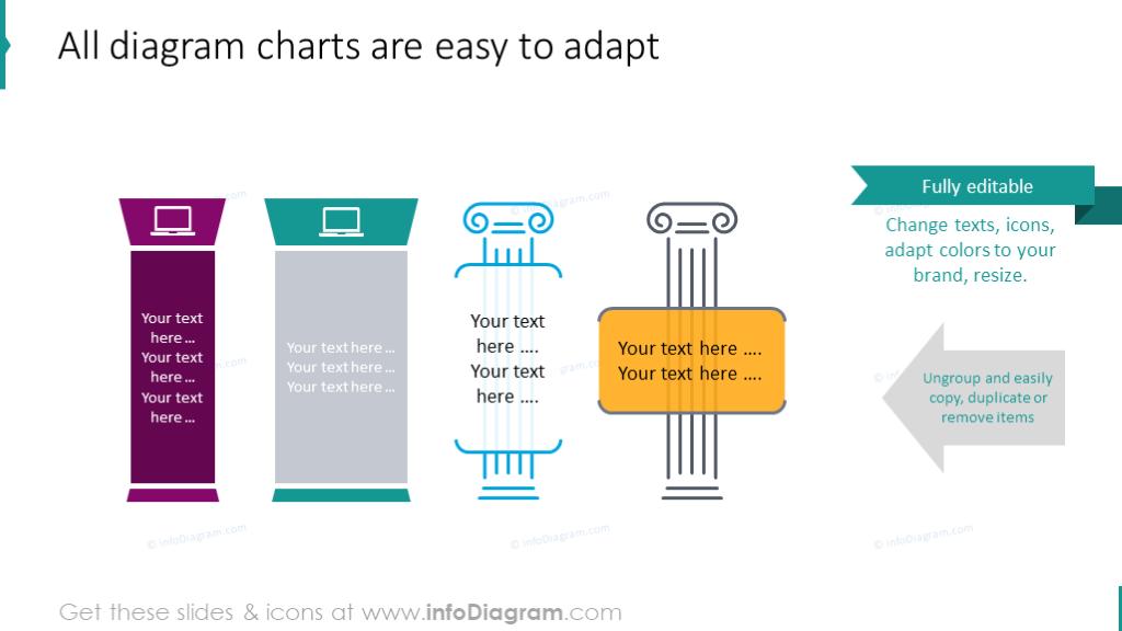 All diagram charts slide