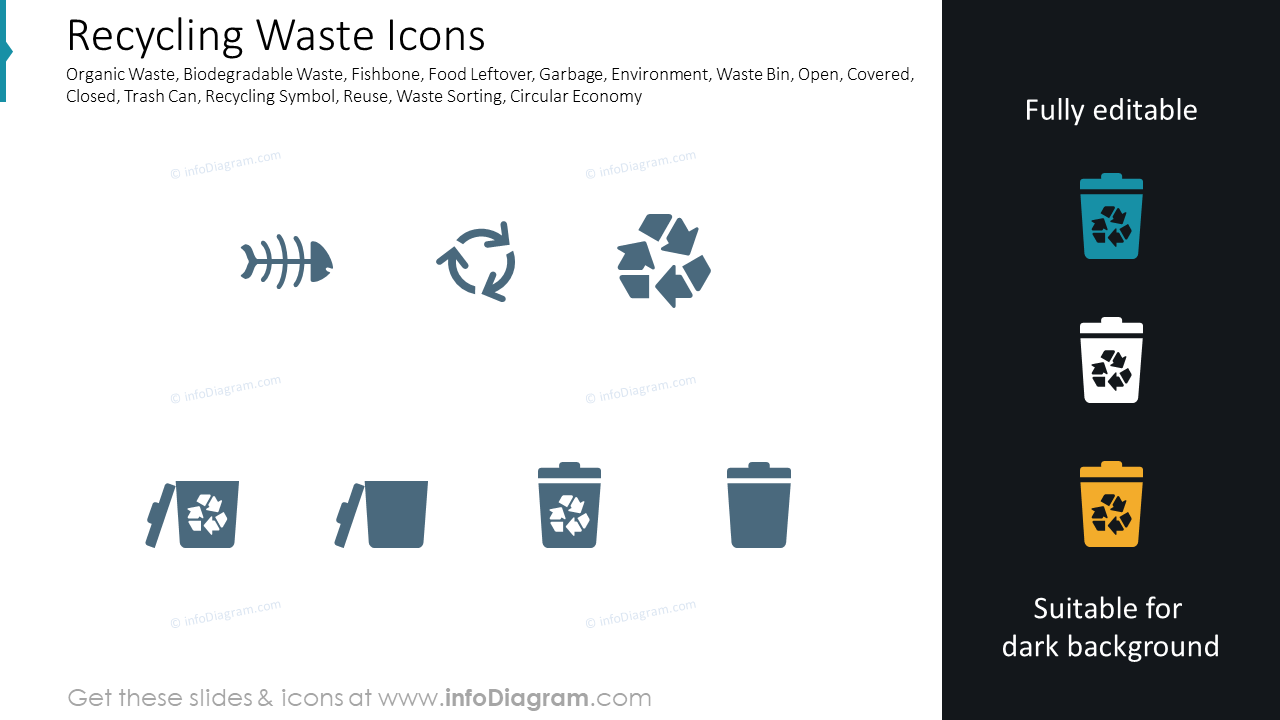 Recycling Waste Icons