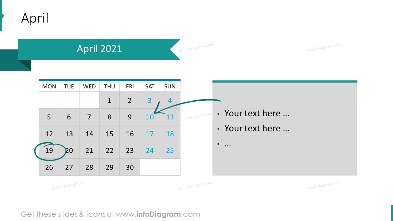 April 2020 EU Calendars