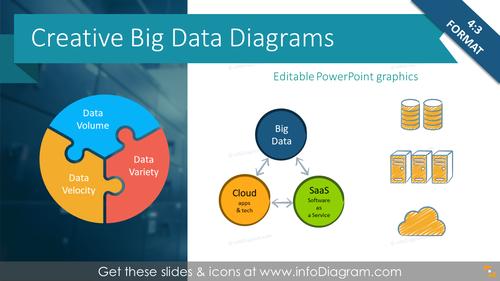 Creative Big Data Diagrams (PPT Template)