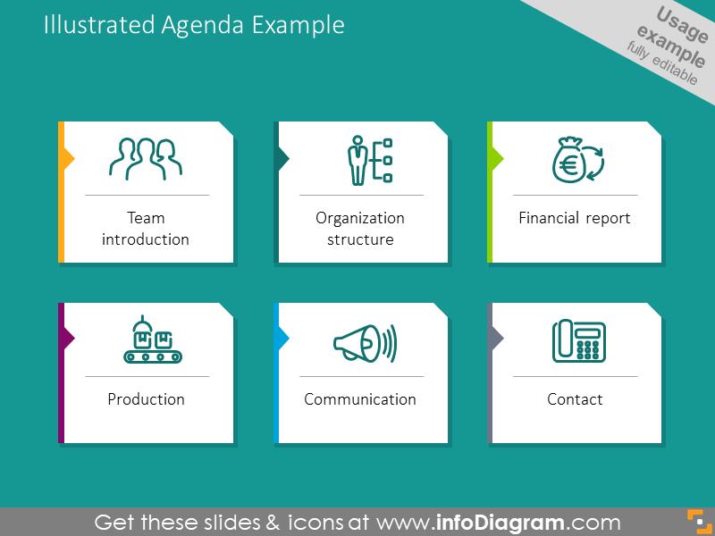 Illustrated Agenda Example