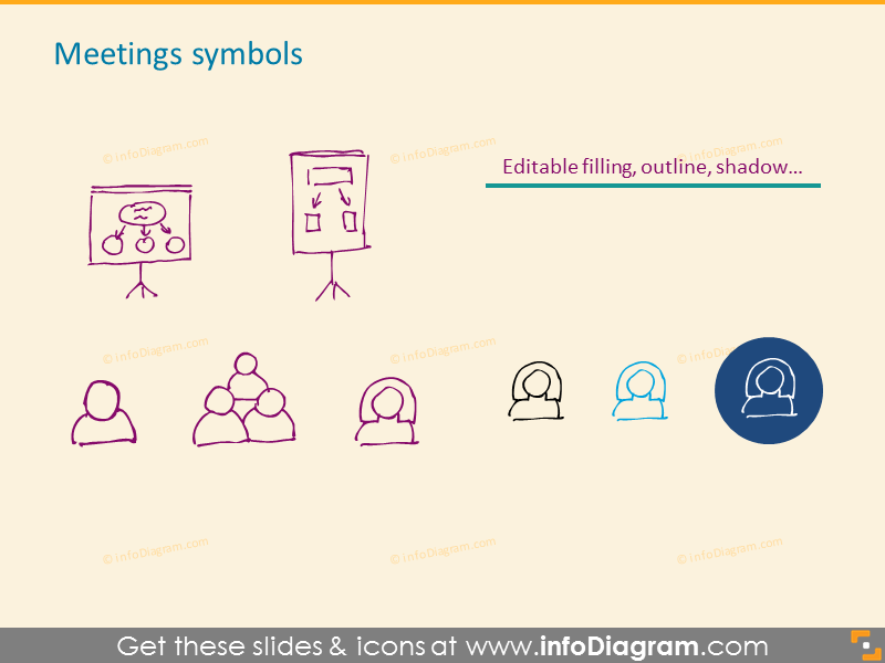 Meetings symbols
