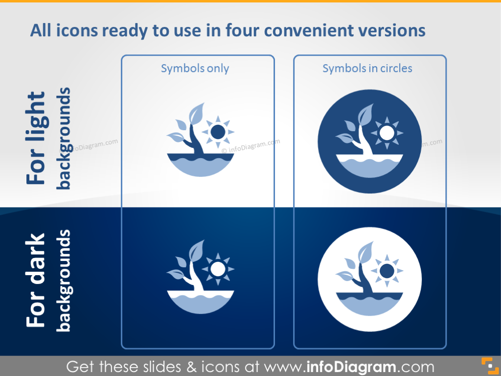 All icons ready to use in four convenient version