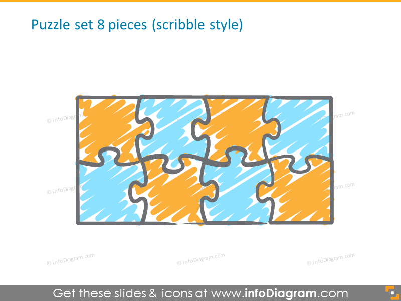 8 pieces puzzle