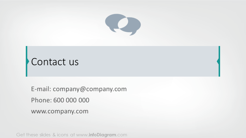 Business card slide
