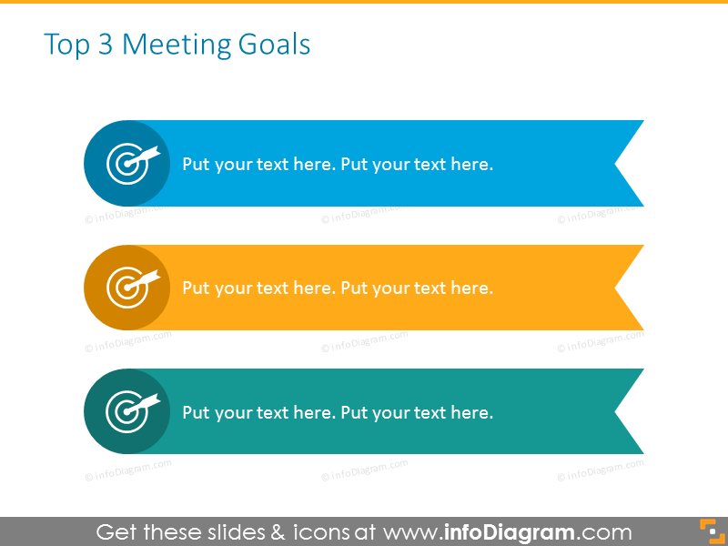 Businesspowerpoint professional template - meeting goals