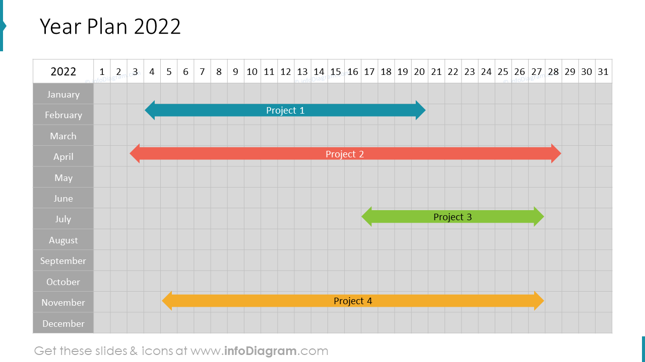 Calendars US Year Plan
