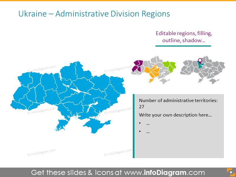 Ukrainian Administrative Division Regions