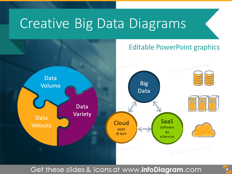 Creative Big Data Diagrams (PPT Template)