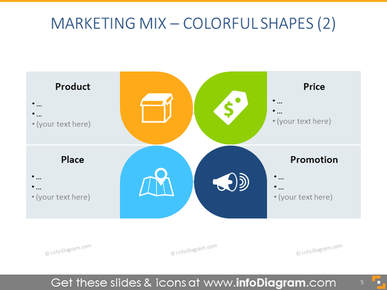 Marketing Mixtemplate – Colorful Shapes 2