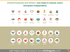 Animal husbandry and fishery icon index: natural colors