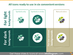 All forestry and wood industry icons ready to use