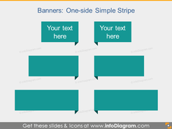 Stripe Comment Text field Flat powerpoint clip art
