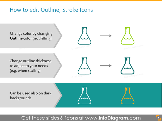 Outline Stroke Icons
