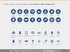 Public Administration Services icons PPT light flat