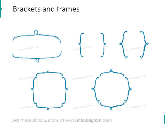 sketched-brackets-frames-pencil-for-infographics-ppt