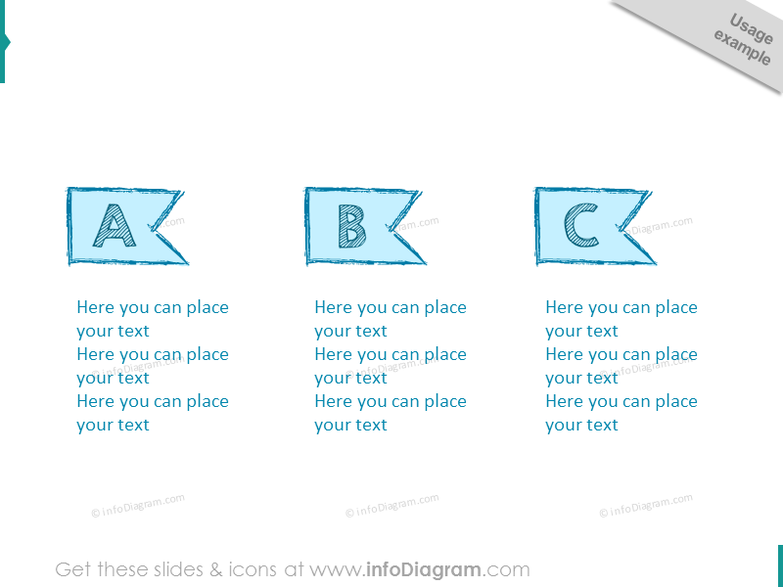 retro-infographics-banner-template-sketch-pencil-ribbon-ppt