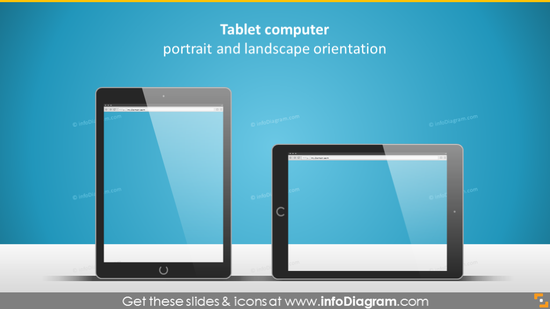 tablet display picture screenshot power point clipart
