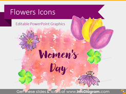 Handdrawn Flowers (PPT  icons)