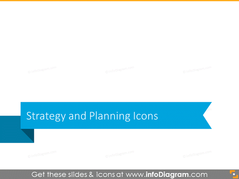 Strategy and planning section slide