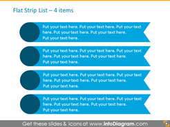 Smart Art List for placing 4 items