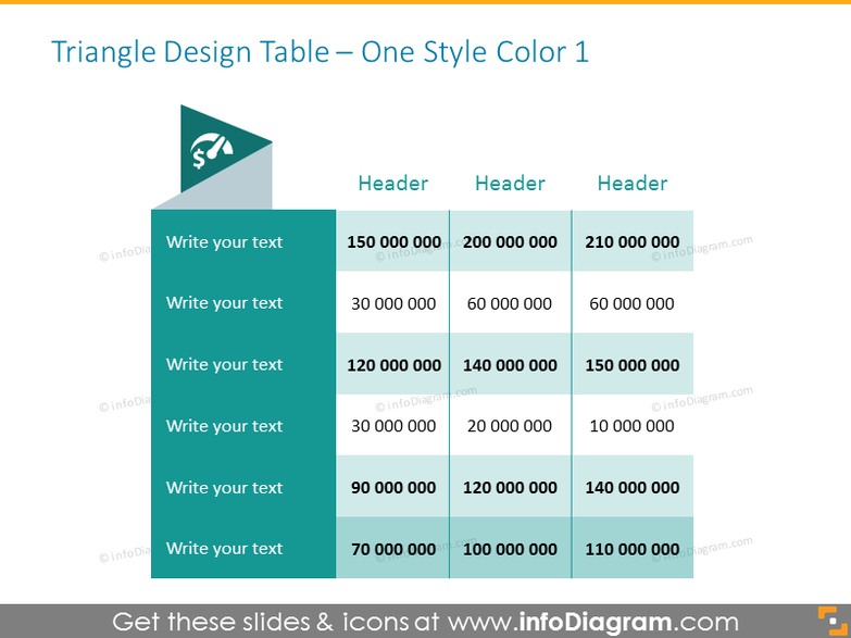 Creative Tables in Powerpoint