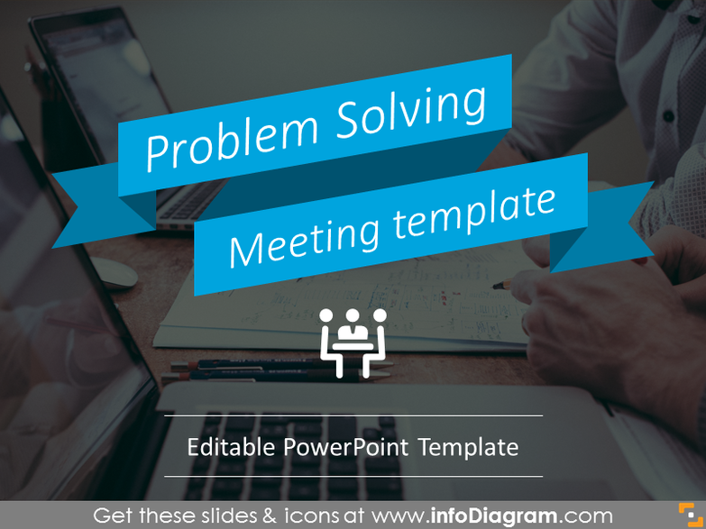 Problem-Solving Meeting Template (PPT graphics)