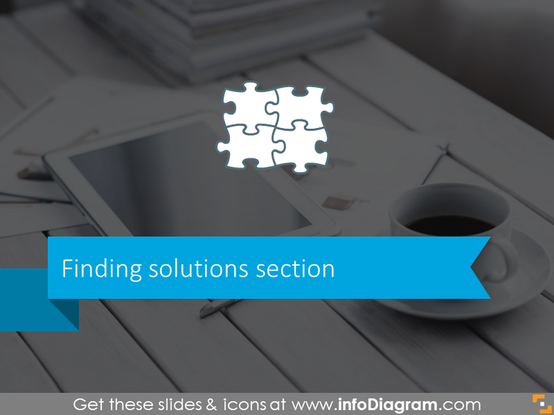 Finding solutions on problem solving meetings