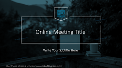 Online meeting title