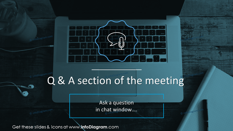 Q & A section of the meeting slide