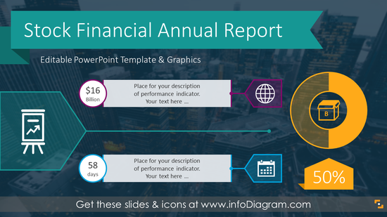 Stock Financial Annual Report (PPT Template)