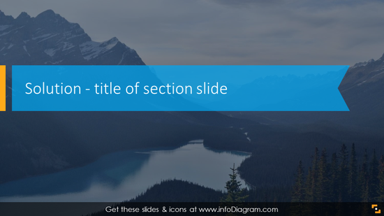 Solution section withwebinar title