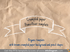 Crumpled paper PowerPoint template brown paper pencil