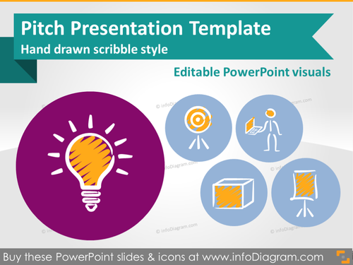 Pitch Presentation Investor Deck Template