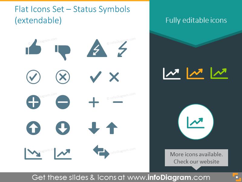 Status Symbols - Index of Flat Icons