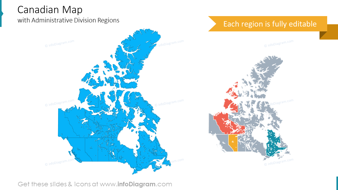 Canada province territory maps